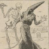 Apeles Mestres (1854-1936) <br> Dansa Macabra