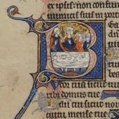 A gilded psalter