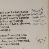William Morris retells Beowulf