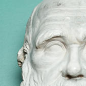 Bust of Darwin