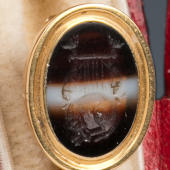 Haydn's agate pin