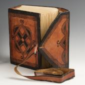 West African Qur'an and satchel