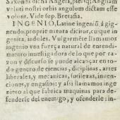 Defining 'ingenio'