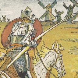 Fighting windmills: the many interpretations of Don Quixote