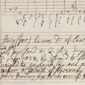 The Coldham Hall music manuscript: identity in opposition