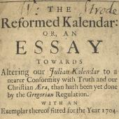 A polemic on the reform of the Julian calendar