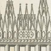 Cathedrals under siege: 'The Old Altar-piece, broken down by the Souldiers in the great Rebellion'