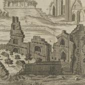 Crumbling monasteries: 'A prospect of the ruine of Glastonbury Abbey'