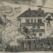 A satirical procession
