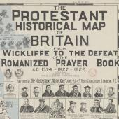 Anti-Catholic cartography: the Protestant Historical Map of 1932