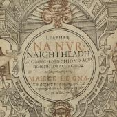 The Reformation of ritual in Ireland