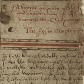 Martyrs and manuscripts: Thomas More and Margaret Clitherow