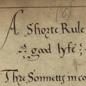 Recusancy in manuscript