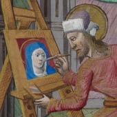 St Luke portraying the Virgin