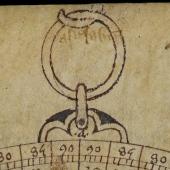Diagram from an <em>Astrolabium</em>
