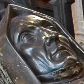 The effigy of Lady Margaret Beaufort