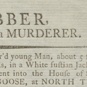 A robber, and (to be fear'd) a murderer