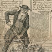 George Cruikshank (1792–1878)  <br> Our 'gutter children'