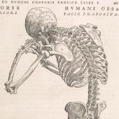 Skeleton in prayer