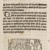 Jacobus de Voragine (c. 1229–98) <em>Legenda aurea</em>, translated into English by William Caxton