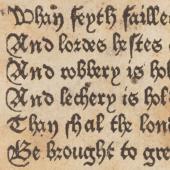 Geoffrey Chaucer (d. 1400) <em>Queen Anelida and the false Arcite </em>
