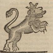 Romance nuevo en el qual se da cuenta de lo que sucedió à una dama con un leon: con todo lo demás que verá el curioso lector