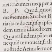 Pietro Bembo (1470–1547) <em>De Aetna</em>